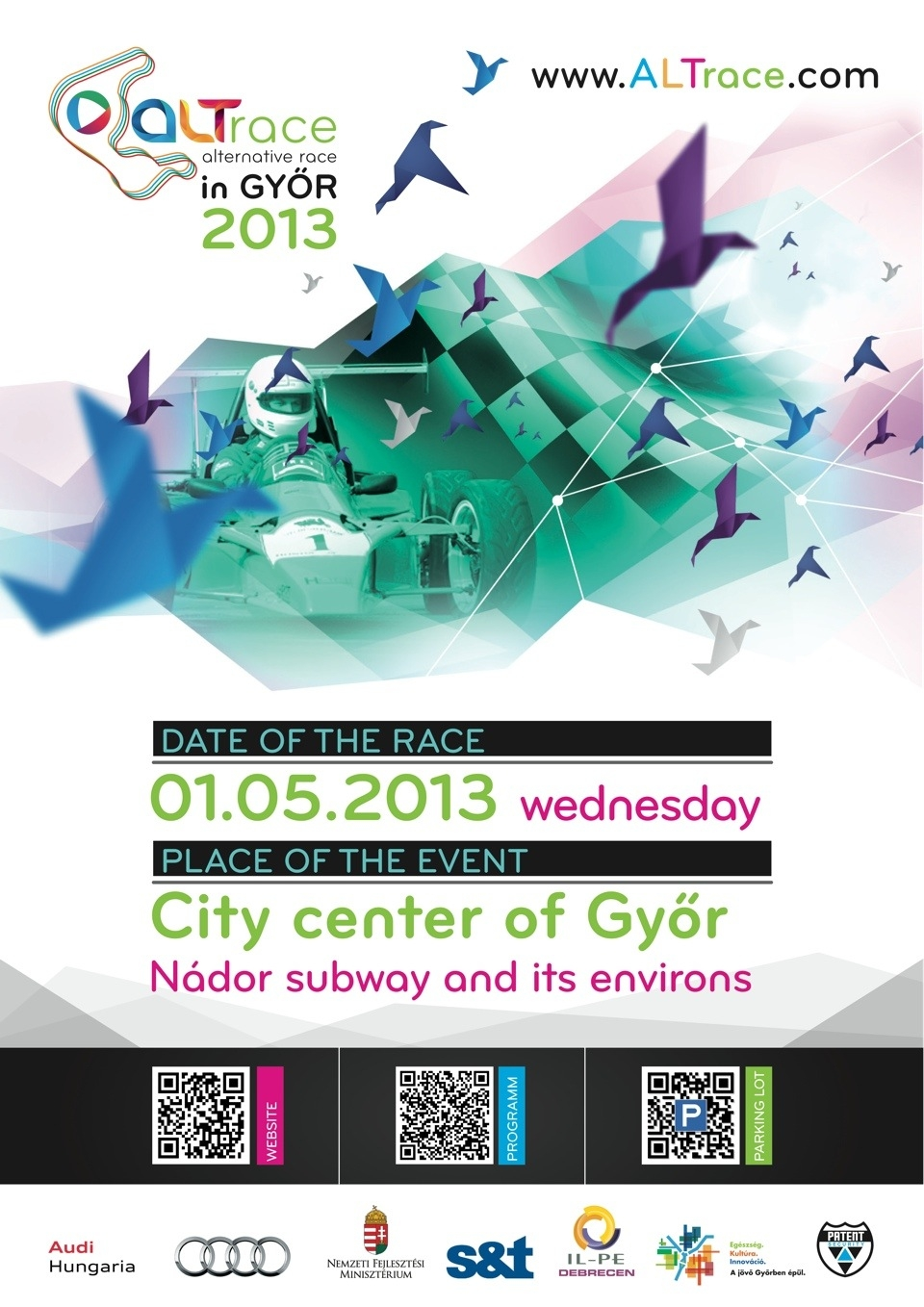 ALTrace in Győr 2013 Poster